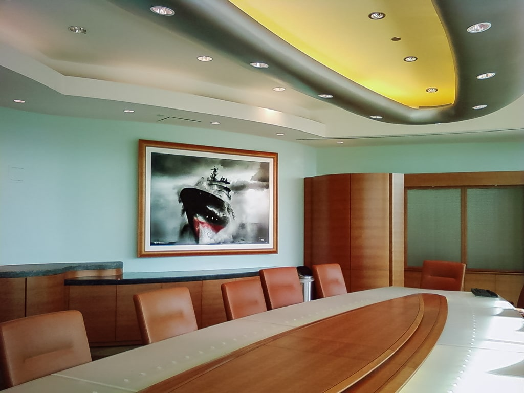 Boardrooms and Conference Rooms